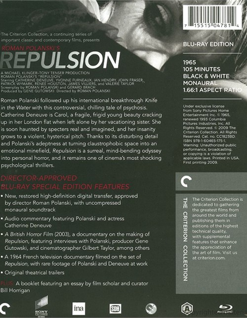Repulsion lyrics