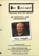 Dialogue, The: Paul Haggis Movie