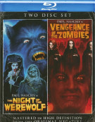 Night Of The Werewolf / Vengeance Of The Zombies (Double Feature) Blu-ray