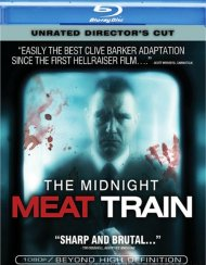 Midnight Meat Train, The: Unrated Directors Cut Blu-ray