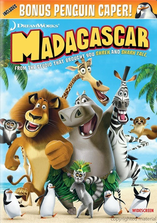 Madagascar (Widescreen) Movie