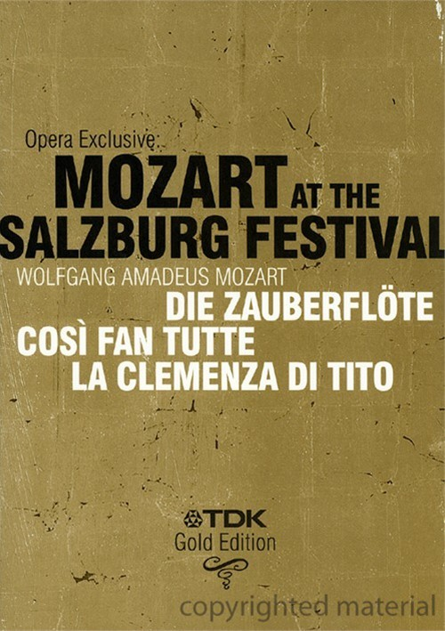 Opera Exclusive: Mozart At The Salzburg Festival Movie