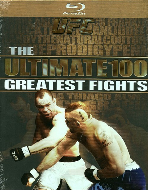UFC: Ultimate 100 Greatest Fights Blu-ray
