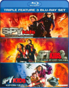Spy Kids / Spy Kids 2: The Island Of Lost Dreams / Spy Kids 3: Game Over (Triple Feature) Blu-ray