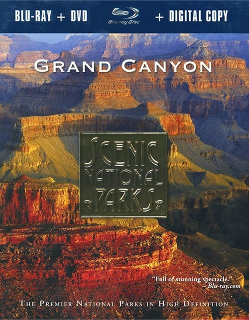Scenic National Parks: Grand Canyon (Blu-ray + DVD + Digital Copy) Blu-ray
