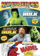 Incredible Hulk Returns, The / Trial Of The Incredible Hulk / How To Draw Comics (Superheroes Collection) Movie
