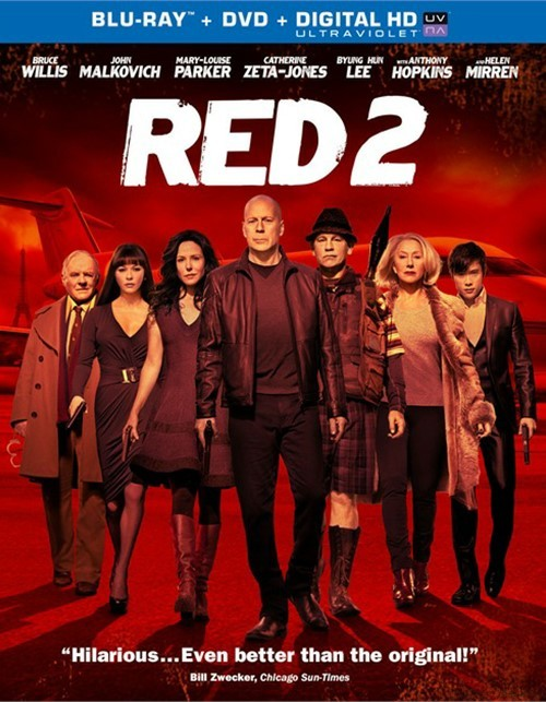 Red 2 (Blu-ray + DVD + UltraViolet) Blu-ray