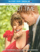 About Time (Blu-ray + DVD + Ultraviolet) Blu-ray