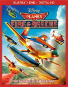 Planes: Fire & Rescue (Blu-ray + DVD + Digital HD) Blu-ray