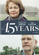 45 Years Movie