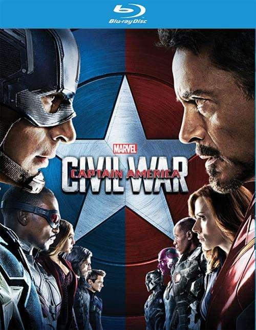 Captain America: Civil War (Blu-ray) Blu-ray