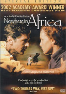 Nowhere In Africa: 2 Disc Special Edition Movie