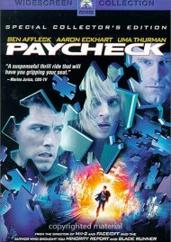 Paycheck: Special Collectors Edition (Widescreen) Movie
