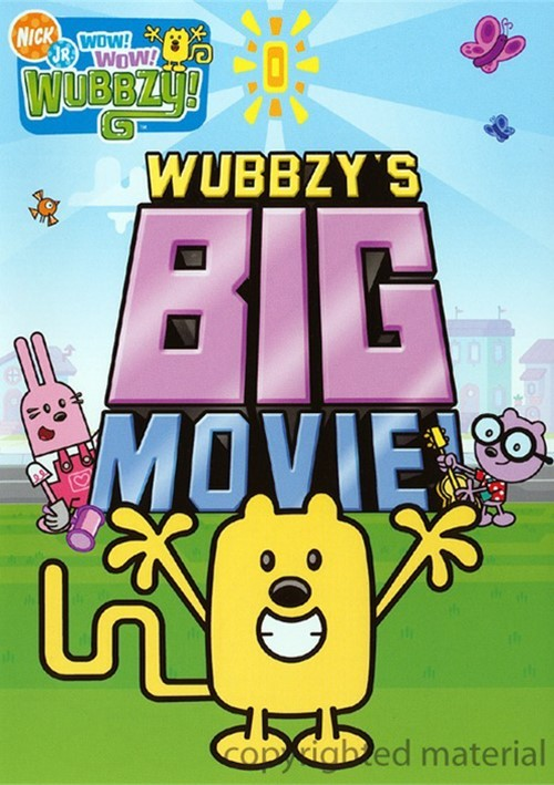 Wow Wow Wubbzy Wubbzy S Big Movie Dvd 2009 Dvd Empire