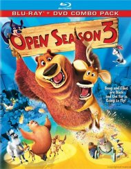 Open Season 3 (Blu-ray + DVD Combo) Blu-ray