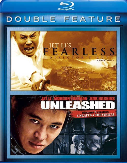 Jet Lis Fearless / Unleashed (Double Feature) Blu-ray