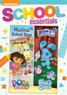 Dora The Explorer: Musical School Days / Blues Clues: Blues Big Musical Movie  (2 Pack) Movie