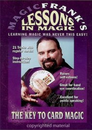 Magic Franks Lessons In Magic: The Key To Card Magic! Movie