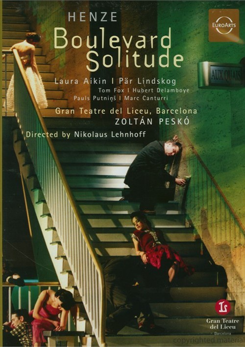 Hans Werner Henze: Boulevard Solitude Movie