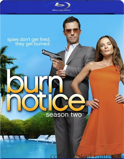 Burn Notice: Season Two Blu-ray
