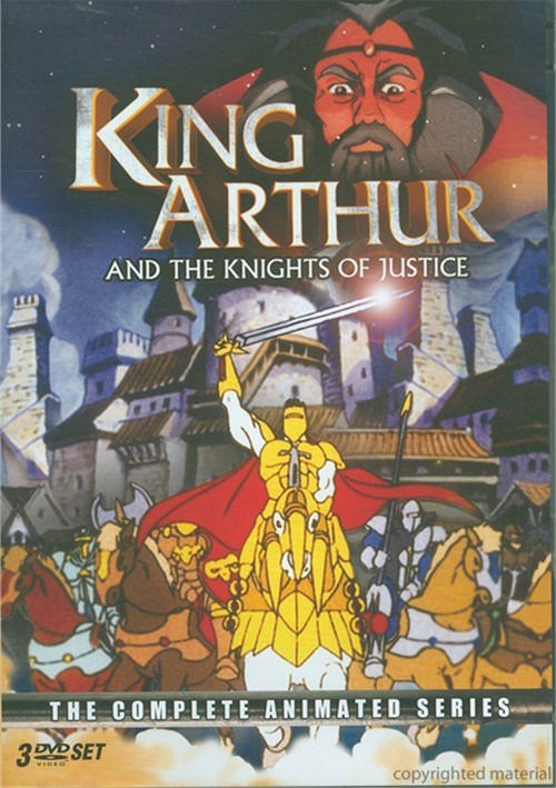 King Arthur And The Knights Of Justice: The Complete Animated Series Movie