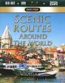 Scenic Routes Around The World: Asia (Blu-ray + DVD + Digital Copy) Blu-ray
