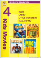 Igor / Labou / Little Monsters / Mac And Me (4 Kids Movies) Movie