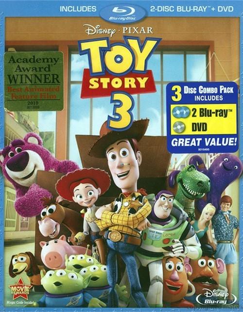 Toy story 3 blu ray dvd combo blu ray