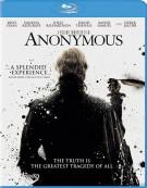 Anonymous Blu-ray