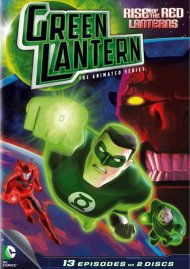 Green Lantern The Animated Series: Rise Of The Red Lanterns - Season 1, Part 1 Movie