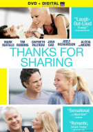 Thanks For Sharing (DVD + UltraViolet) Movie