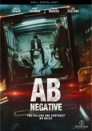 AB Negative (DVD + Digital Copy)  Movie