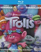 Trolls (4K Ultra HD + Blu-ray + UltraViolet) Blu-ray