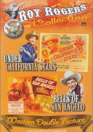 Roy Rogers Collection: Under California Stars/ Bells Of San Angelo Movie