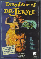 Daughter Of Dr. Jekyll: The Edgar G. Ulmer Collection #3 Movie