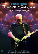 David Gilmour: Remember That Night Movie