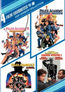 4 Film Favorites: Cop Comedy Collection Movie