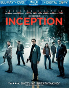 Inception (Blu-ray + DVD + Digital Copy) Blu-ray