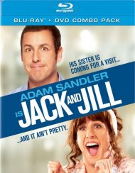 Jack And Jill (Blu-ray + DVD + UltraViolet) Blu-ray