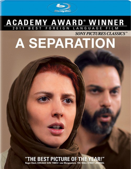 Separation, A Blu-ray