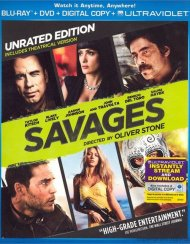 Savages (Blu-ray + DVD + Digital Copy + UltraViolet) Blu-ray