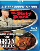 Dirty Dozen, The / The Green Berets (Double Feature) Blu-ray