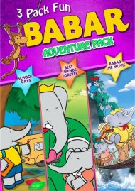 Babar: 3 DVD Adventure Pack Movie