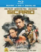 Sicario (Blu-ray + DVD + UltraViolet) Blu-ray