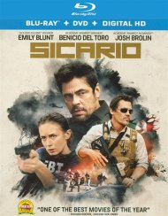 Sicario (Blu-ray + DVD + UltraViolet) Blu-ray
