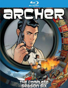 Archer: The Complete Season Six Blu-ray