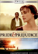 Pride & Prejudice (Widescreen) Movie