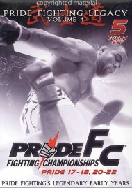 Pride FC: Pride Fighting Legacy - Volume 4 Movie