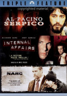 Serpico / Narc / Internal Affairs (Triple Feature) Movie