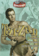 Tarzan: Tarzan & The Trappers / Tarzan The Fearless / Tarzan & The Green Goddess (Triple Feature) Movie